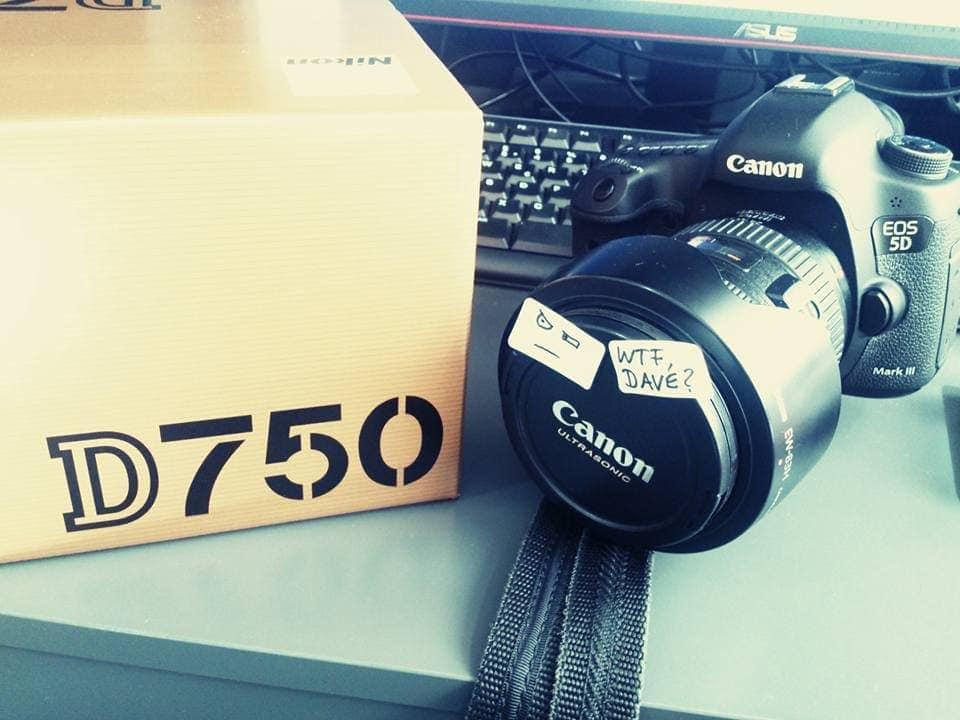 Kliewer Fotografie arbeitet mit Canon und Nikon Vollformat Kameras