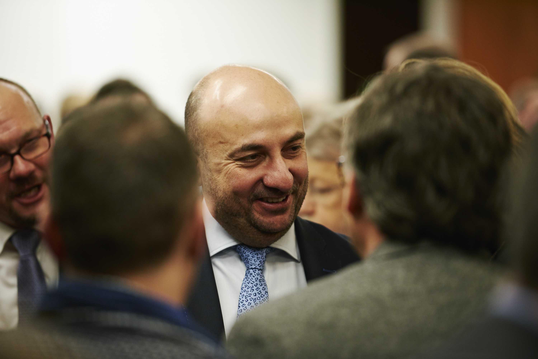 PR-Fotografie Luxemburg Minister Etienne Schneider