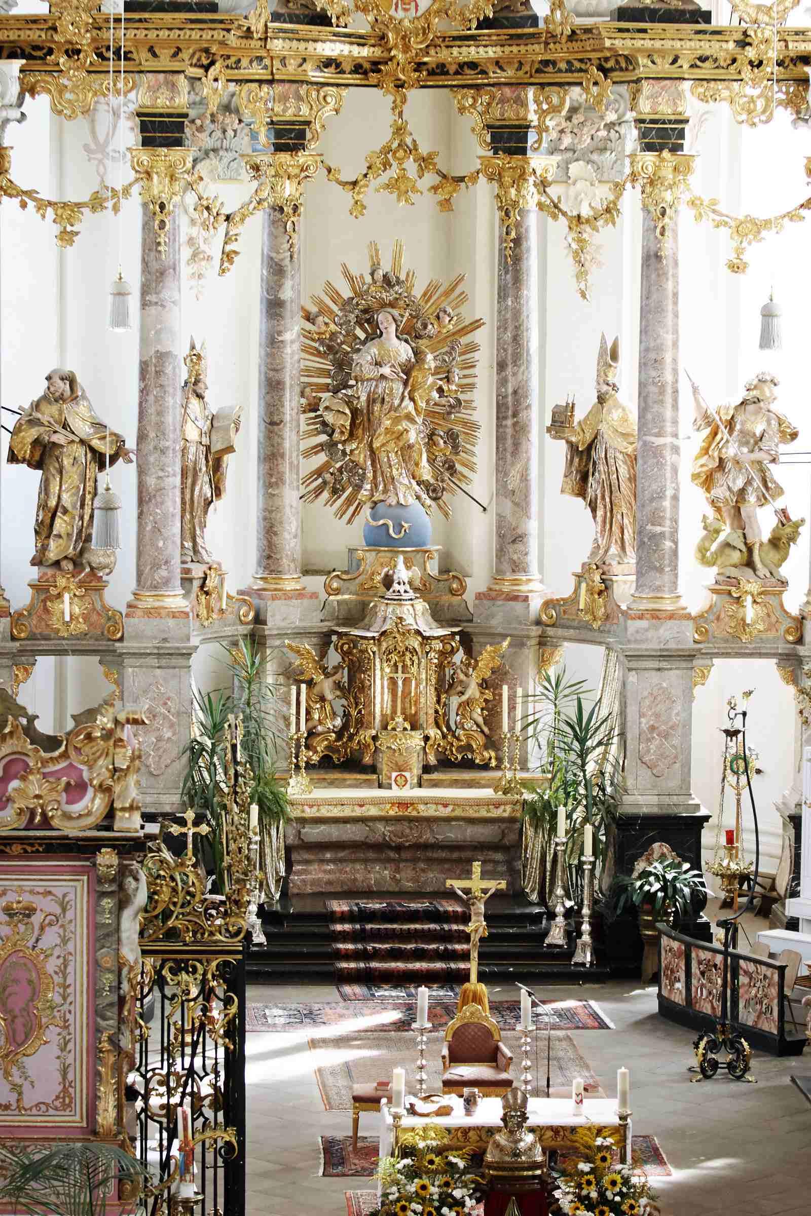 Fotografie der Kirche St. Paulin Trier