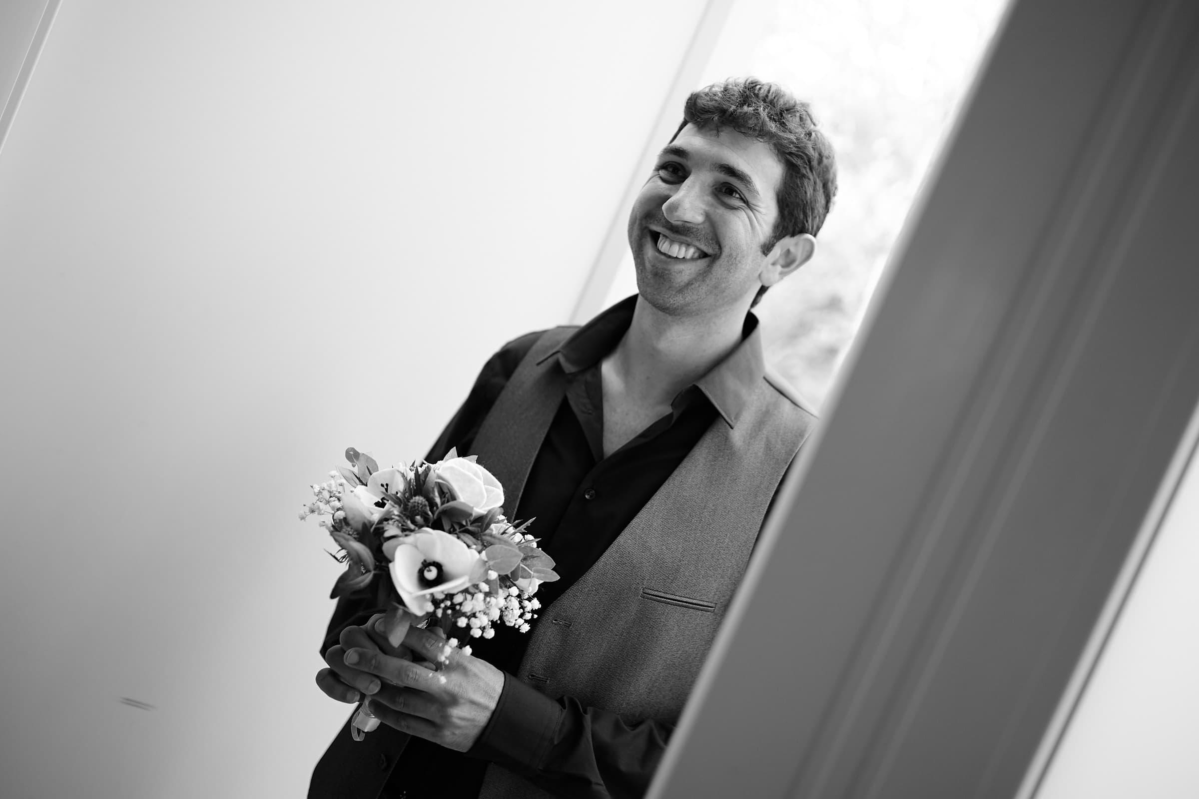 First Look Jüdische Hochzeit Tagesreportage im Saarland