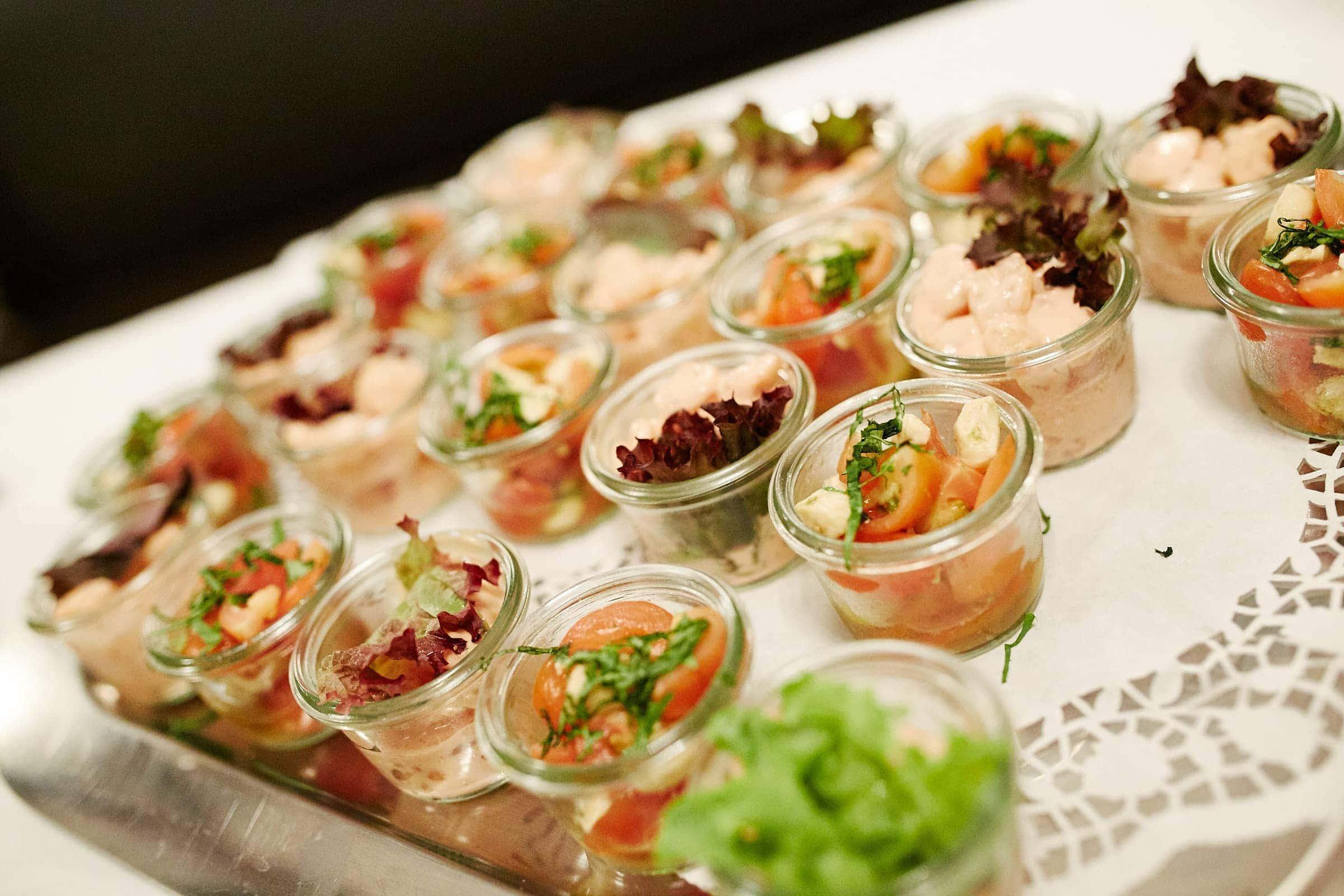 Abendessen Buffet Jüdische Hochzeit Tagesreportage im Saarland