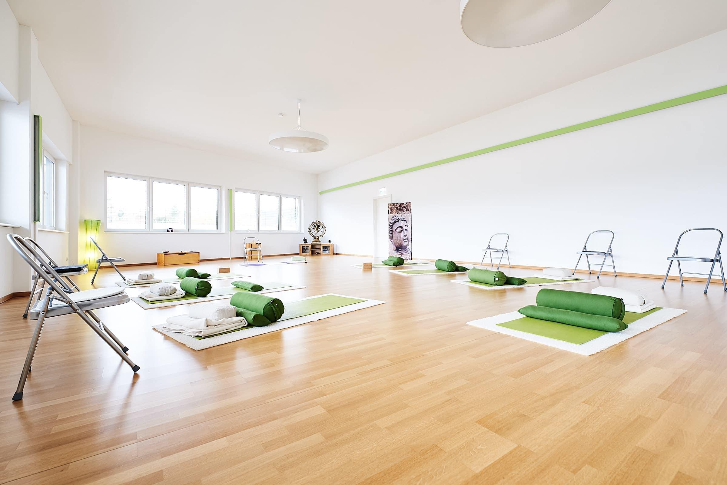 Firmenfotograf Trier Interieur Yogaschule Ultraweitwinkel