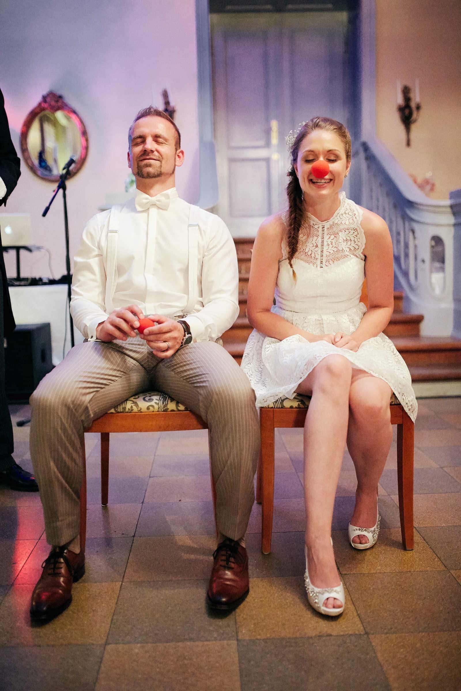 lebendige und authentische Reportage eines Hochzeitsspiels