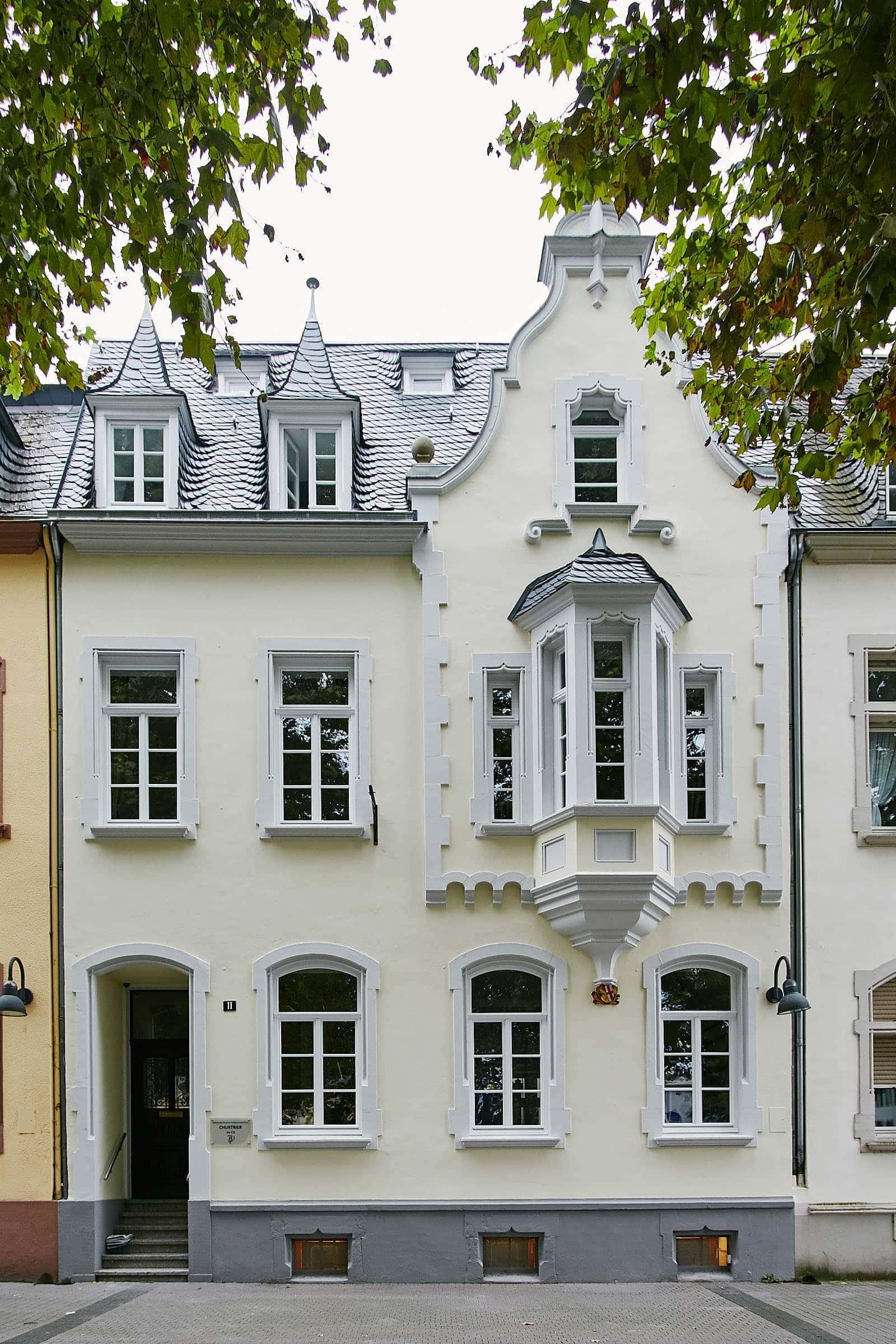 frontansicht des böhmerhauses