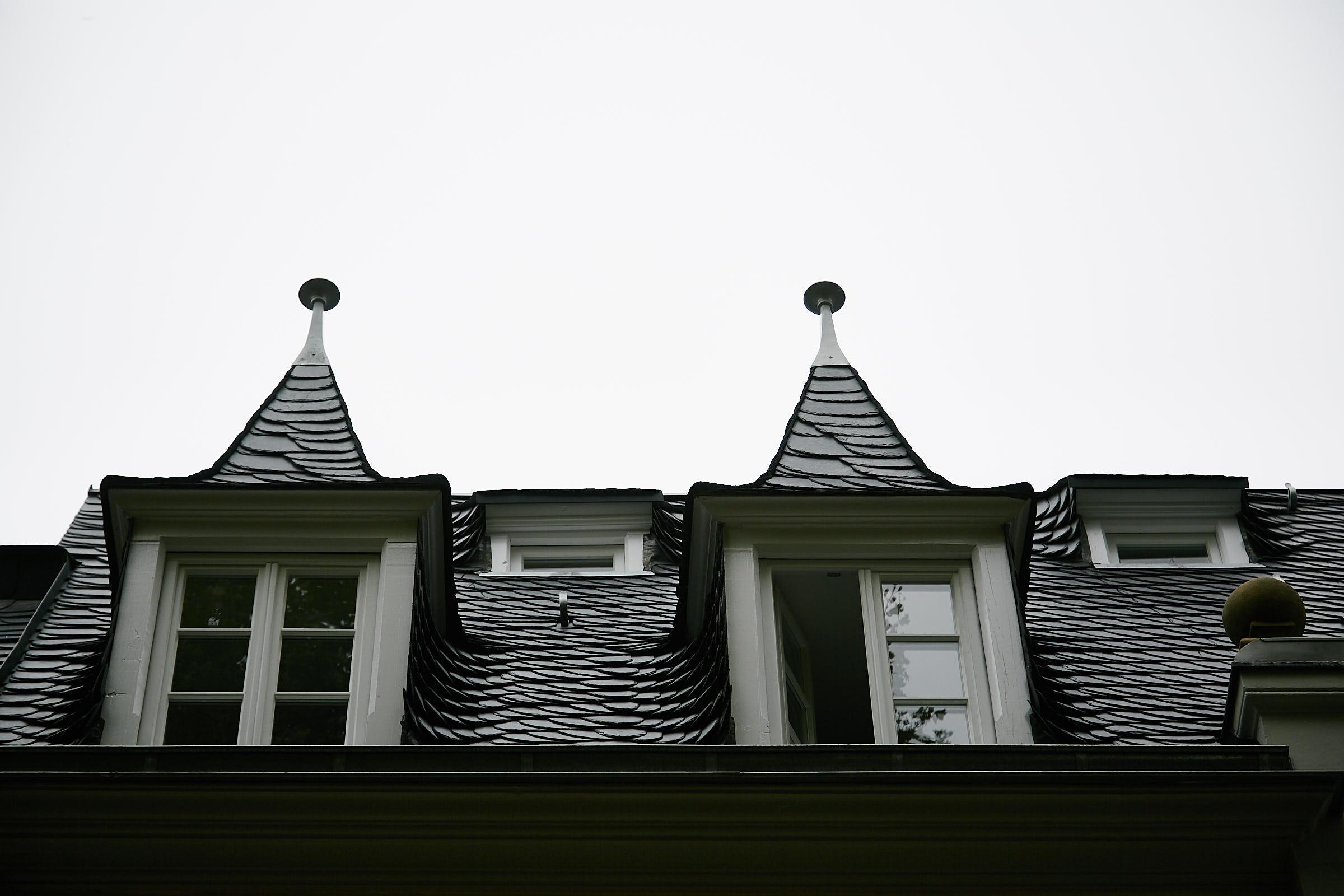 Fotografie eines restaurierten Dachgeschosses des Böhmerhaus in Trier