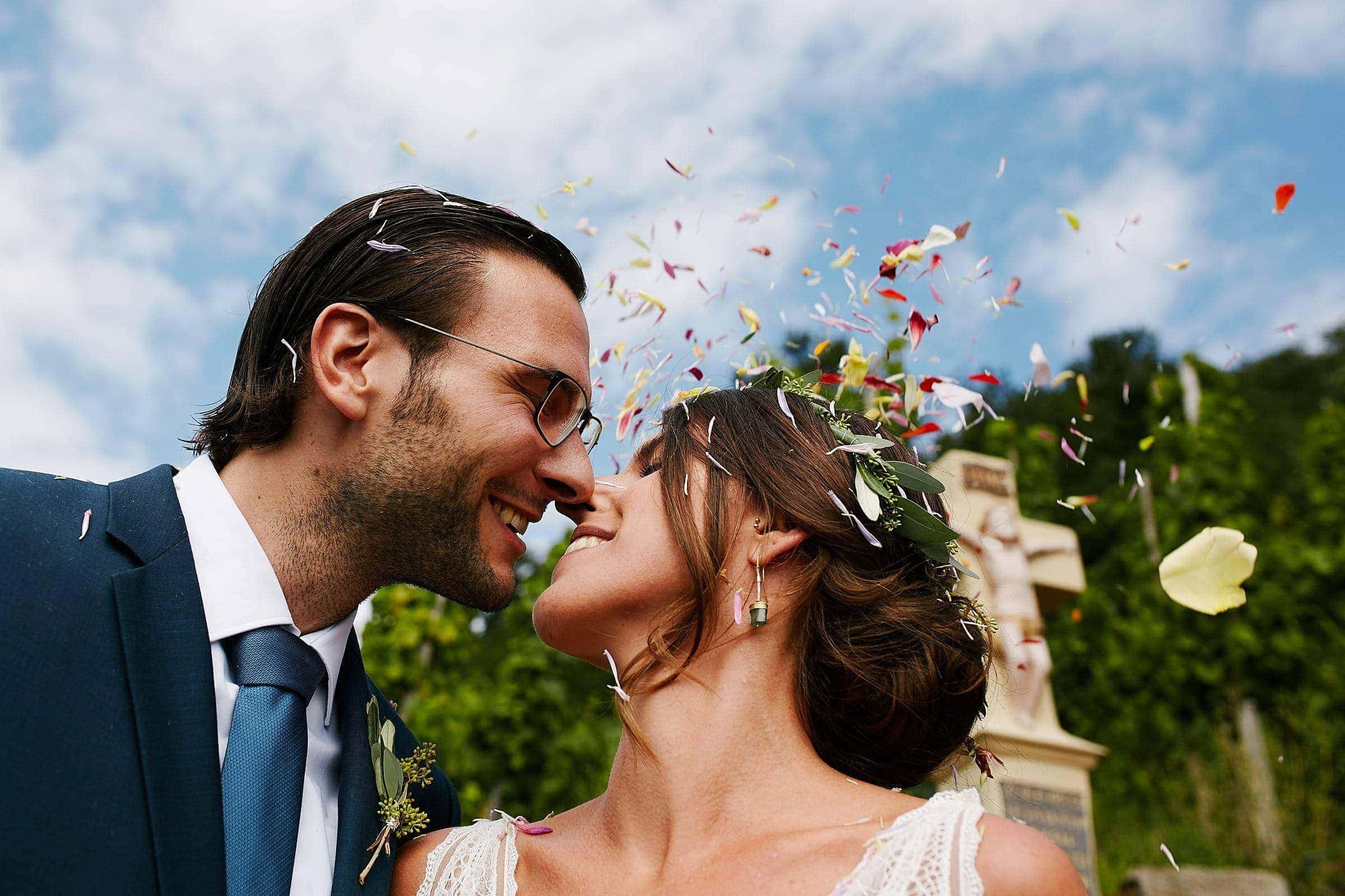 Hochzeitsreportage einer kirchlichen Trauung bei Lieser