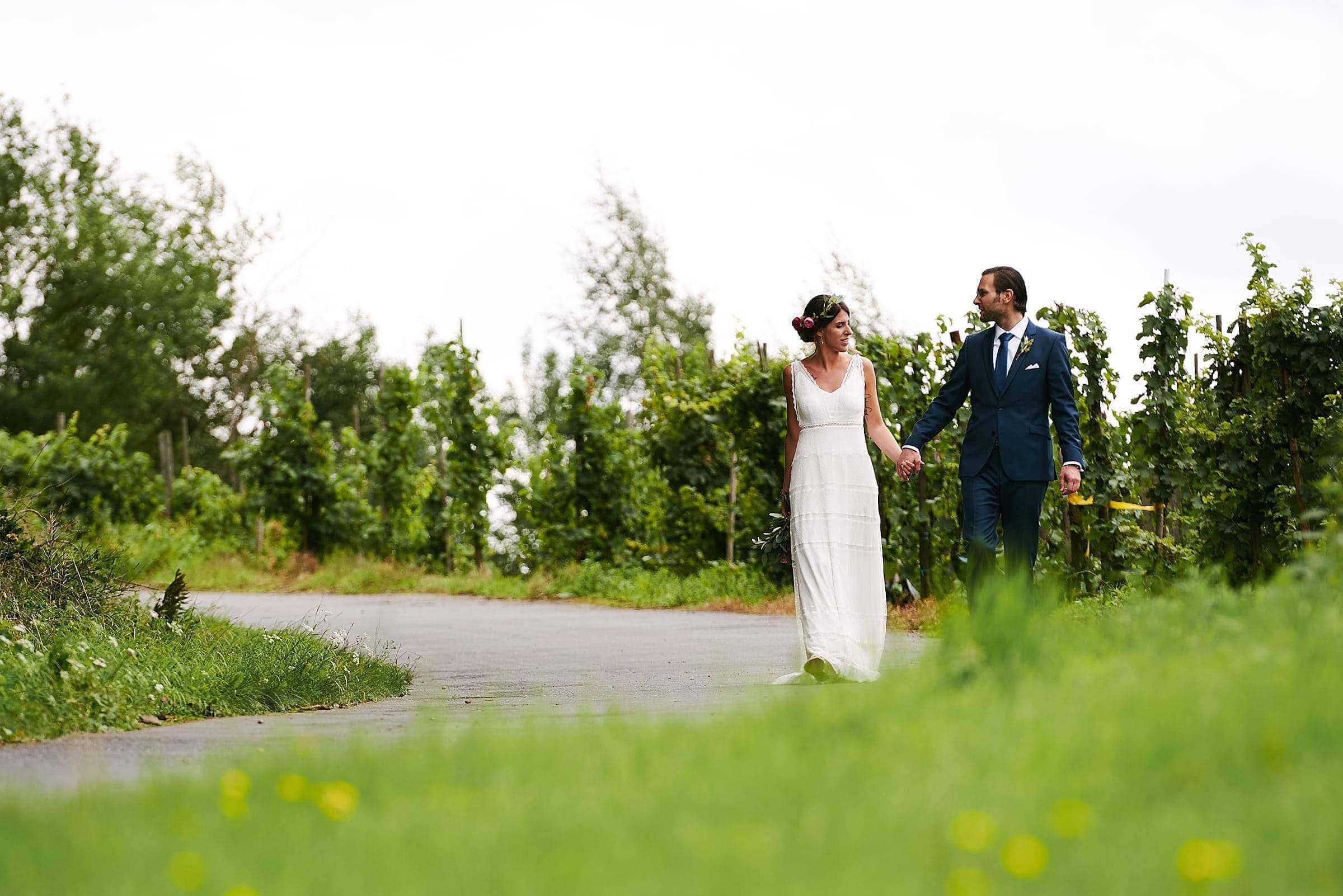 Natürliche und ungestellte Paarfotos von ihrem Hochzeitsfotograf in Trier