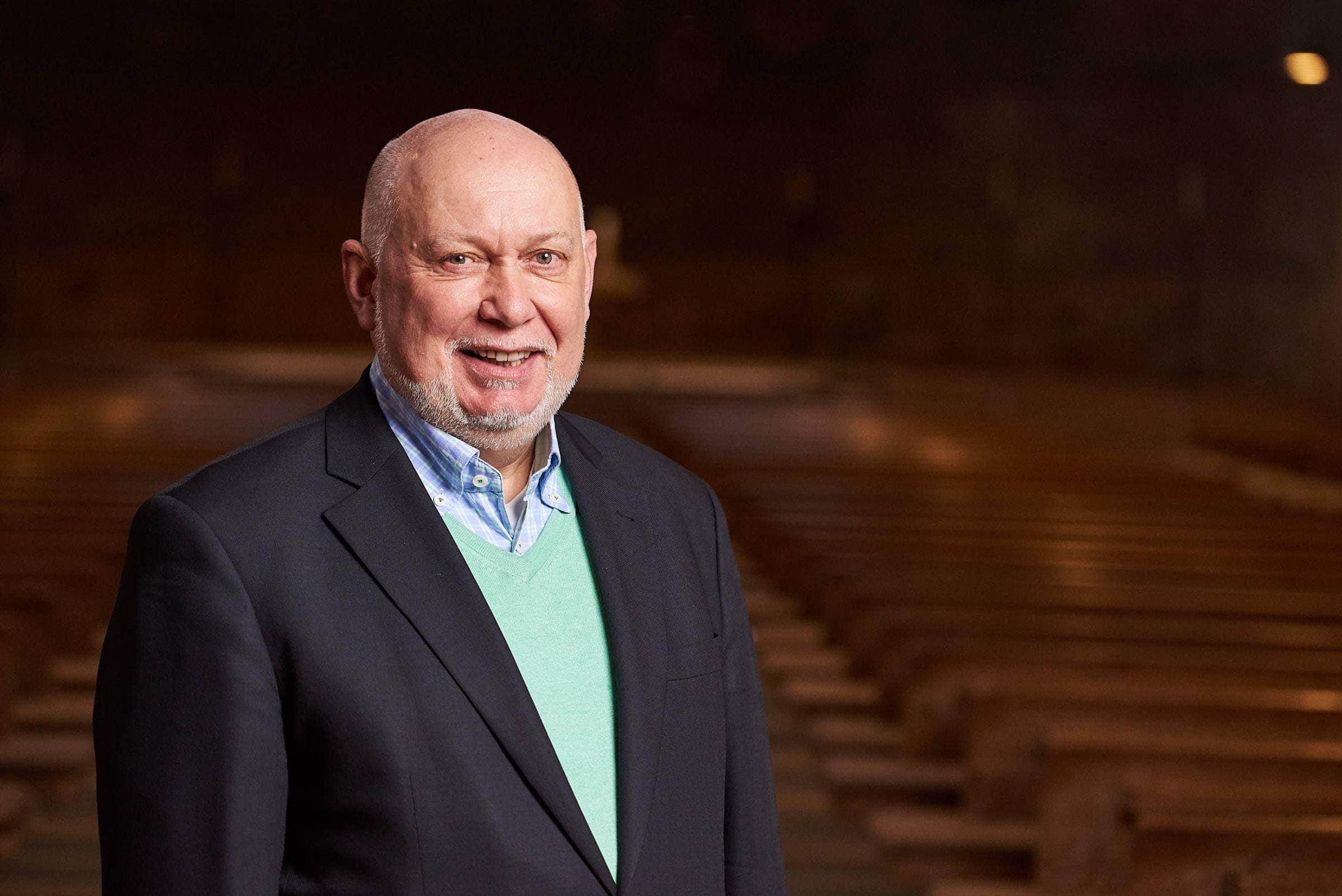 PR Fotografie für die evangelische Kirchengemeinde Trier, Pfarrer Reinhard Müller