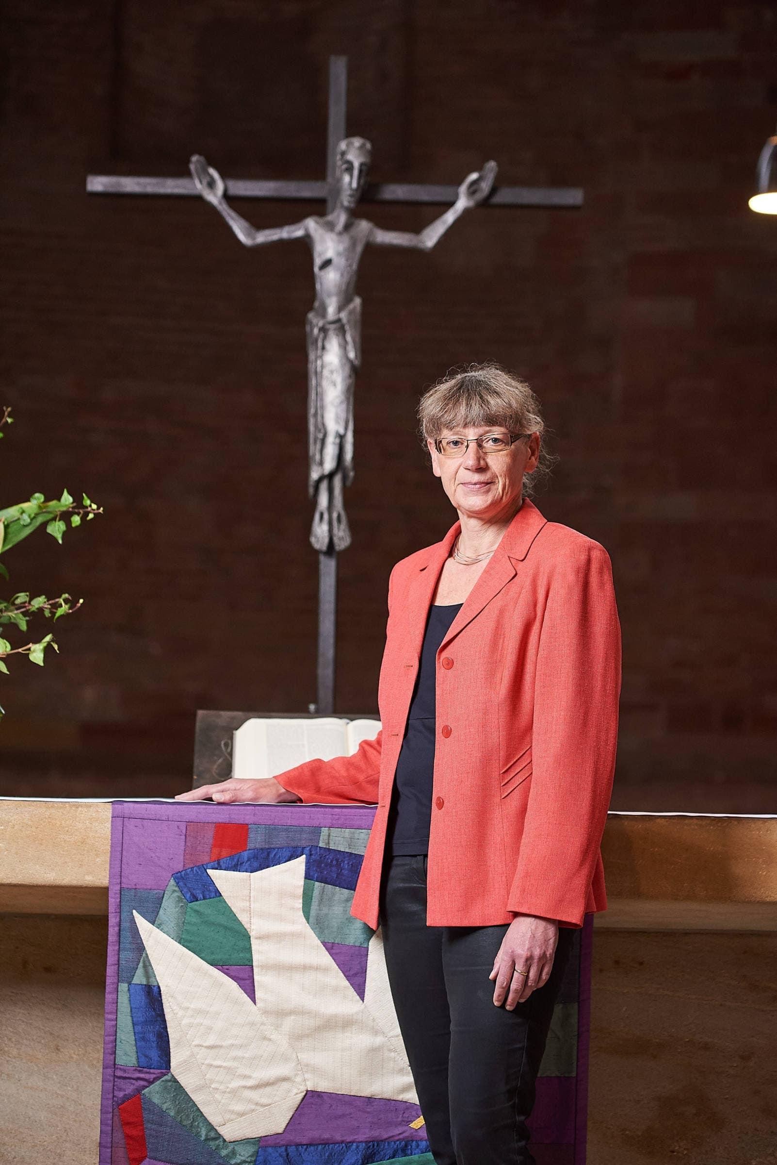 PR Fotografie für die evangelische Kirchengemeinde Trier, Pfarrerin Wiebke Dankowski