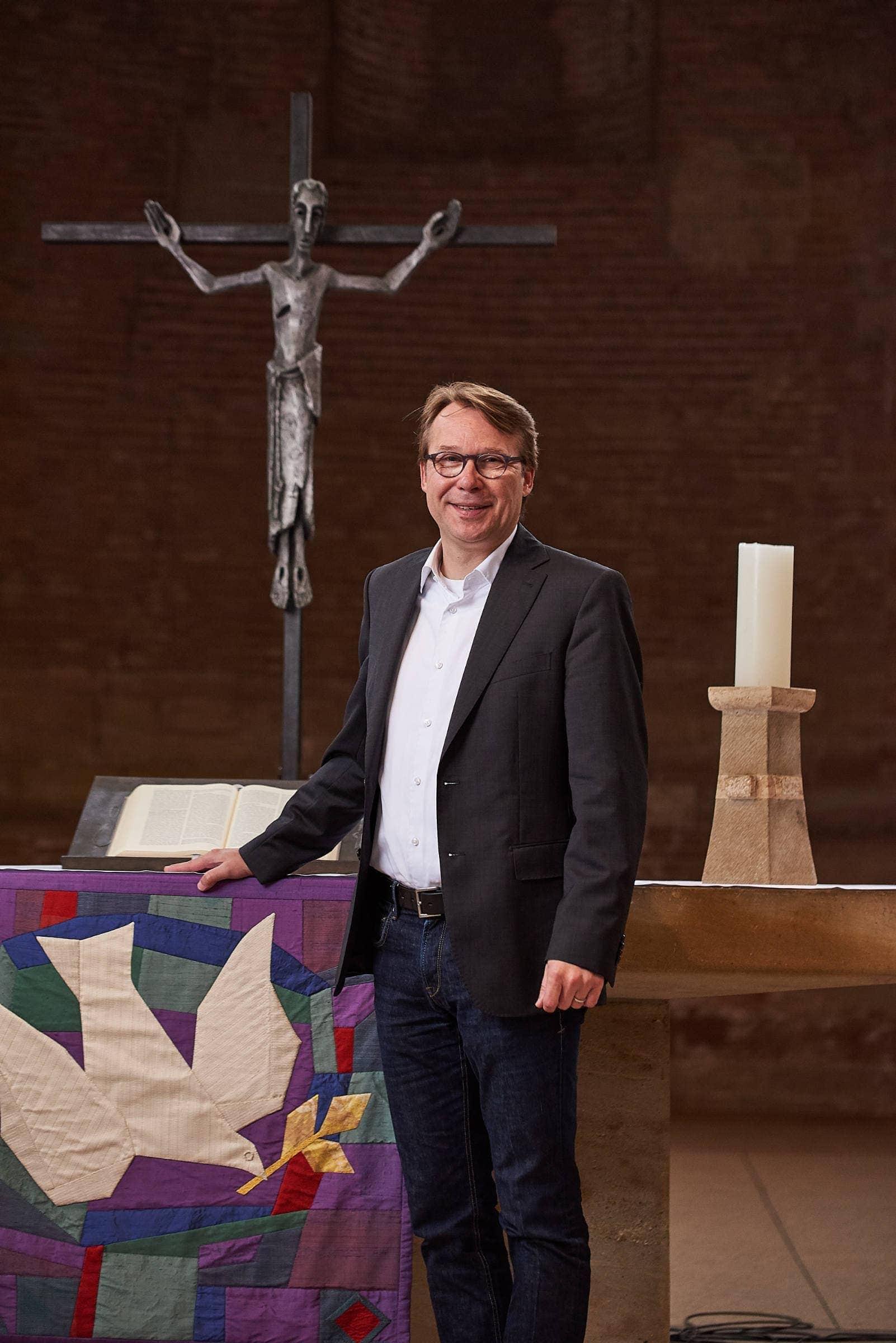 PR Fotografie für die evangelische Kirchengemeinde Trier, Pfarrer Thomas Luxa
