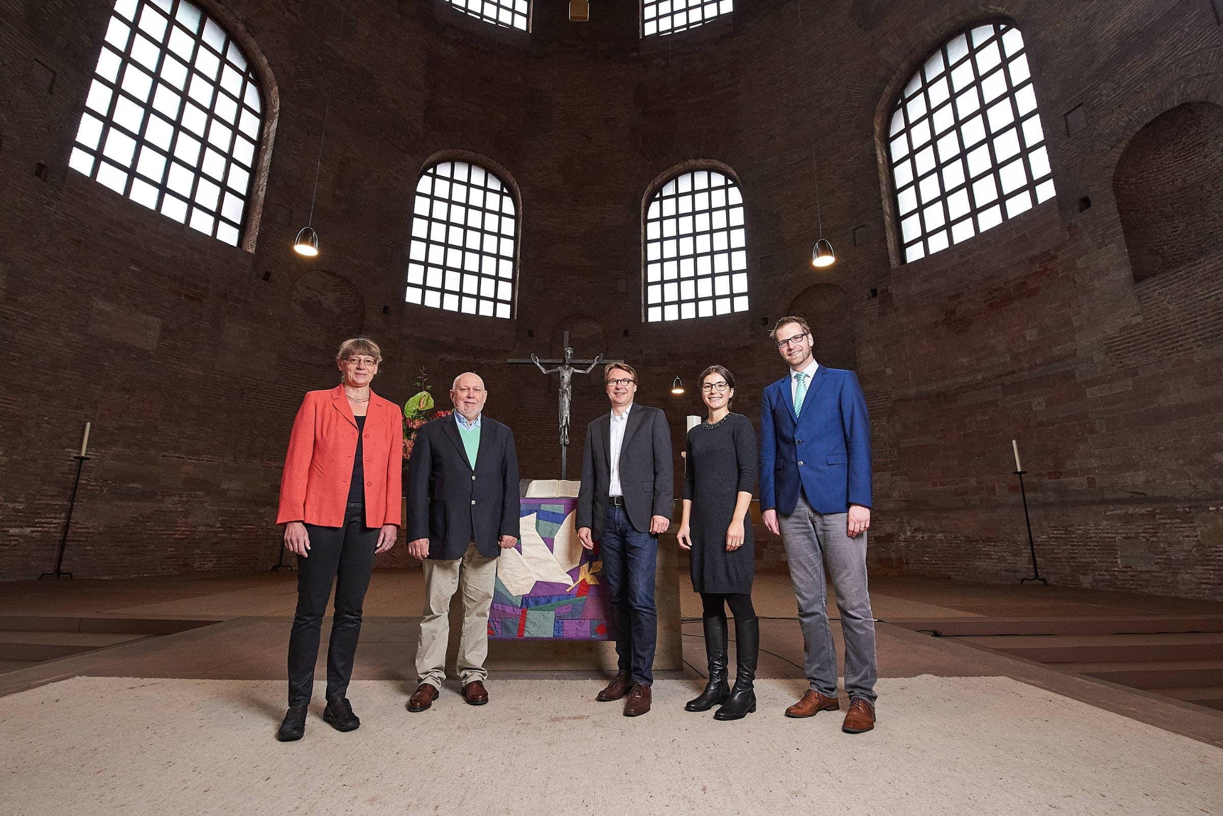 PR Fotografie für die evangelische Kirchengemeinde Trier, Gruppenfoto