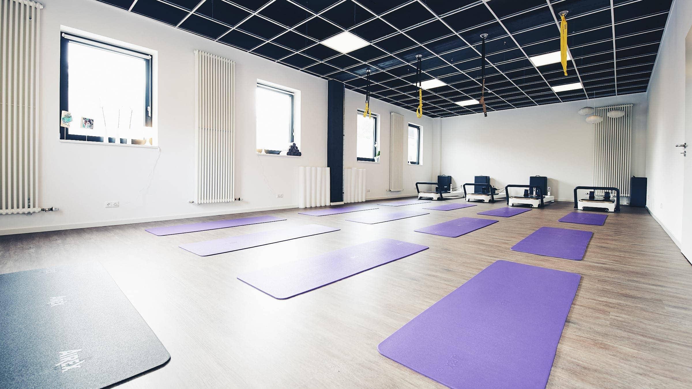 Interieur-Fotografie eines Pilates Studio in Trier von Kliewer Fotografie