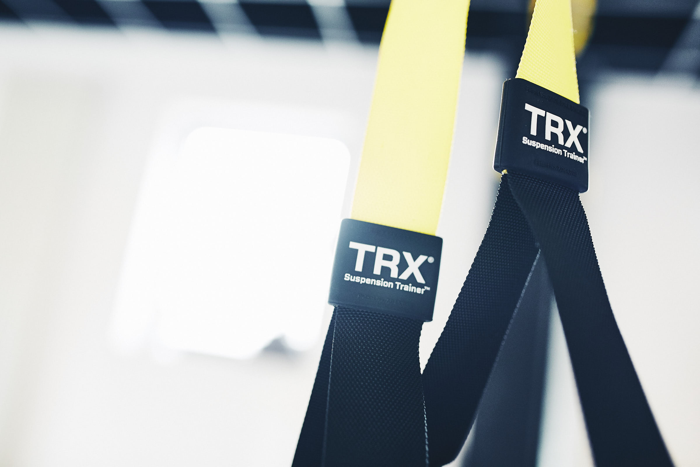 Fotografie eines TRX Suspension Trainer im Alineo Pilates Studio Trier