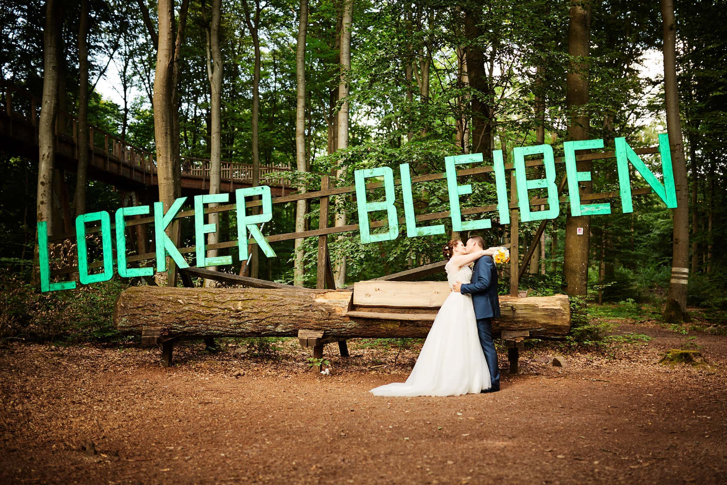 Unweit des Cloef Atrium gibt es zahlreiche Locations für originelle Hochzeitsfotos.